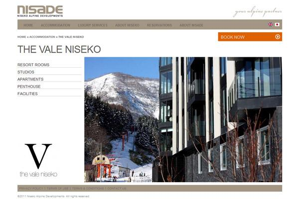 Niseko Alpine Accommodation - Accommodation page