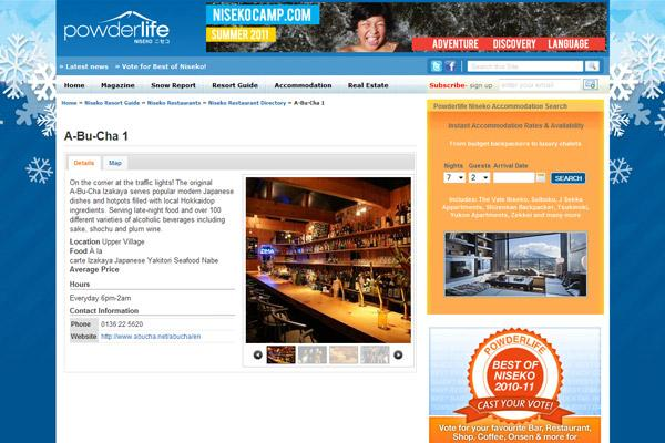 Powderlife Magazine - Restaurant guide