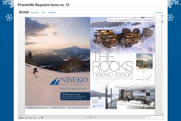 Powderlife Magazine - Scribd integration